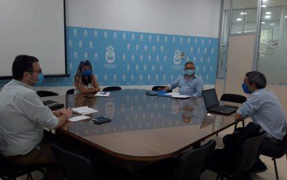 Abellán preside su primera reunión como teniente de alcalde responsable del Área de Servicios Operativos y Mantenimiento Urbano