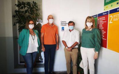 Parlamentarios Andaluces visitan las instalaciones del Centro Polivalente de FEGADI COCEMFE en La Línea