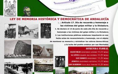 Diferentes actos el día 14 con motivo del día del recuerdo y homenaje a las víctimas del golpe militar y la dictadura