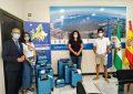 Lozano y Barea entregan los premios a los finalistas comarcales del concurso #europaencasa
