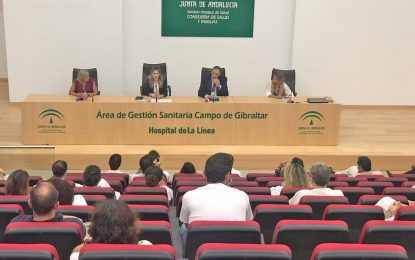 La Junta respalda la labor de los profesionales del Área de Gestión Sanitaria del Campo de Gibraltar