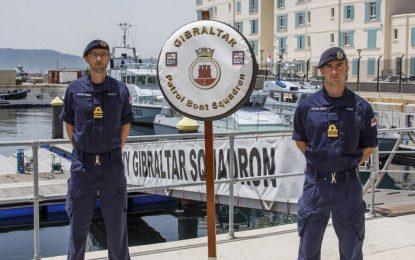 El Capitán de Corbeta Cardy se convierte en nuevo Oficial al Mando del Escuadrón de Gibraltar de la Royal Navy