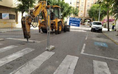 Esta mañana se han iniciado las obras de peatonalización de la calle Rafael de León