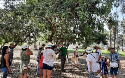 """Turismo inaugura la visita guiada """"el parque que queremos"""" en colaboración con 'Los locos del parque'"""