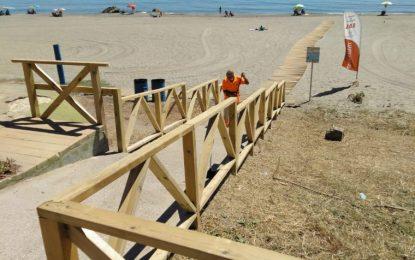 Salvamento, socorrismo y Policía Local permanecerán en las playas hasta el 10 de septiembre, fecha en que finaliza la temporada
