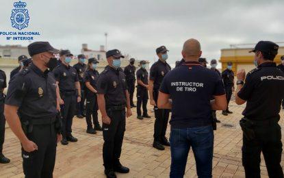 La Policía Nacional incorpora en La Línea 40 policías en prácticas  para completar su periodo de acceso a la escala básica