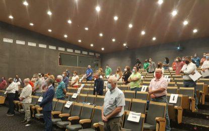 Helenio Lucas aboga por buscar fórmulas de desarrollo ante la crisis del Covid-19 en la inauguración del XI Congreso comarcal de UGT