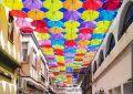 Turismo convoca el concurso de  fotografías 'Sefie en calle Cadalso, calle de los paraguas'