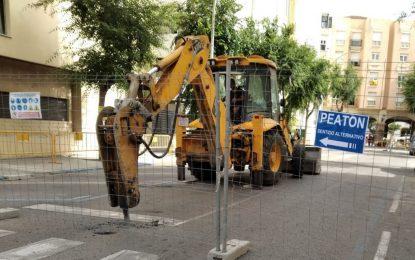 La calle Rafael de León incorporará contenedores soterrados de las mismas características que los que se ubicarán en el tramo de Isabel La Católica