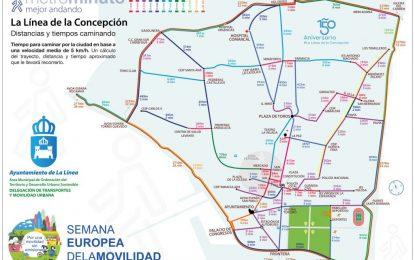 """Movilidad Urbana difunde la campaña """"mejor andando""""  en la Semana Europea de la Movilidad"""