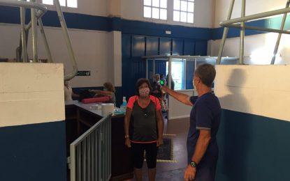 Deportes reanuda las clases presenciales de gimnasia del programa de mayores con todas las medidas de prevención frente a la covid-19