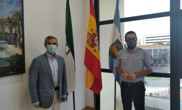 El alcalde aborda con el coordinador de la Administración General del Estado el incremento de medios en la lucha contra el narcotráfico