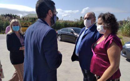El alcalde ha acompañado a la Viceconsejera de Salud en la presentación de la nueva gerente del Área Sanitaria Campo de Gibraltar Este
