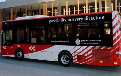 Otros cinco conductores de autobús en Gibraltar dan positivo en prueba Covid-19