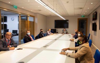 Reunión del Ministro Principal con el Grupo Transfronterizo