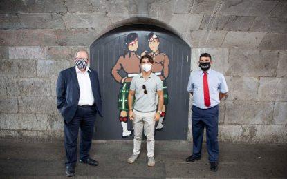 Las calles de Gibraltar lucirán nuevos murales inspirados en Bacarisas