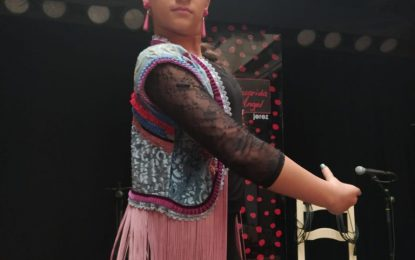 Mariam Lobato, candidata en la categoría de jovenes promesas en Linenses con talento