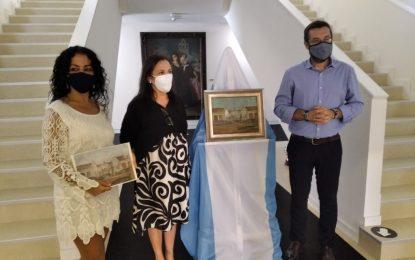 El Museo dispone desde hoy de un nuevo cuadro de Cruz Herrera donado por Carlos Ramírez Murto