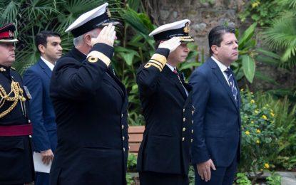 Ceremonia militar y civil para conmemorar el 215 aniversario de la batalla de Trafalgar