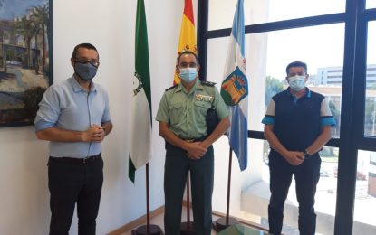 El alcalde ha recibido al nuevo jefe de la Comandancia de la Guardia Civil de Algeciras