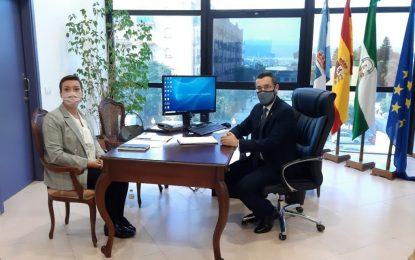 Juan Franco y Gemma Araújo analizan la recuperación para el municipio de varios edificios sin uso