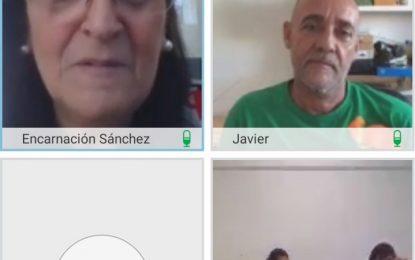 """Esta mañana se ha celebrado el taller virtual """"Atún Emigrante"""", de Javier Velasco, integrado las jornadas de """"Acorrucarte"""""""
