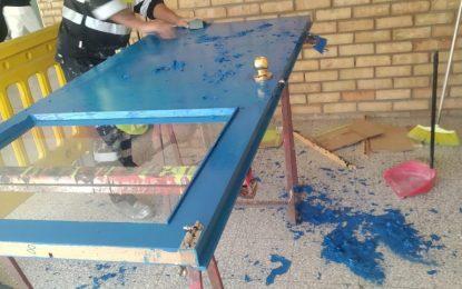 Mantenimiento Urbano acomete el pintado de la escuela infantil El Rocío