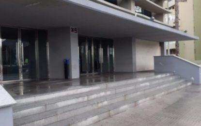 Los trabajos de desinfección se han realizado en paradas de autobuses y taxis e inmediaciones del Ayuntamiento