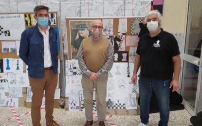 Sebastián Hidalgo visita el IES Antonio Machado con motivo del Día Mundial del Ajedrez
