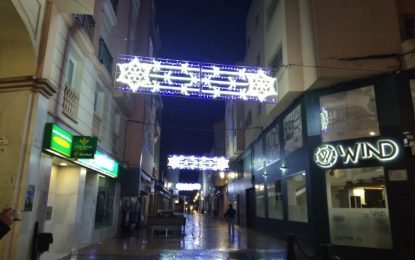 Encendido del alumbrado de Navidad en La Línea