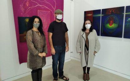 """Inaugurada la exposición """"Al Aire, Pensamientos"""", de David Solís, en la sala de exposiciones temporales del Museo Cruz Herrera"""