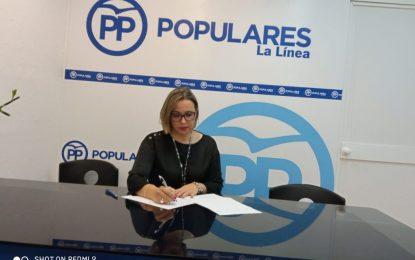"""González: """" El PSOE no se acuerda del abandono de La Línea durante 40 años""""."""