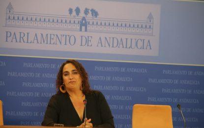 """Ángela Aguilera califica de """"inmoral"""" la orden de desalojo de 22 familias de La Línea en plena pandemia y exige que se cumpla el decreto ley 27/2020"""