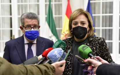 """Sandra García: """"Dos grandes hitos marcarán 2021: unos nuevos Presupuestos inversores en Andalucía y la continua llegada de vacunas"""""""