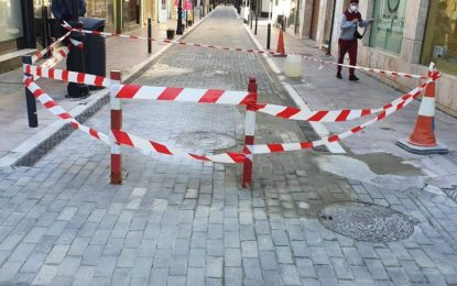 Mantenimiento Urbano  repara desperfectos viales
