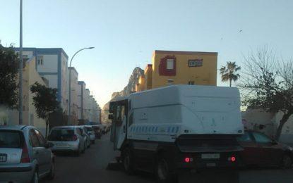 Limpieza prosigue en Conchal-Castillo con la desinfección de distritos en la ciudad