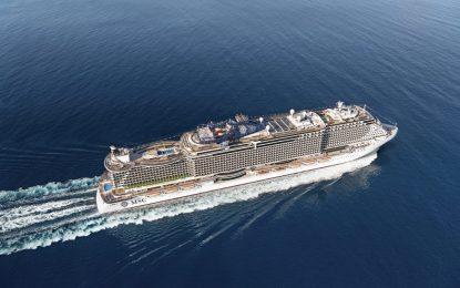 El crucero MSC Seaview efectuará una escala técnica en Gibraltar cumpliendo los protocolos establecidos actualmente en vigor