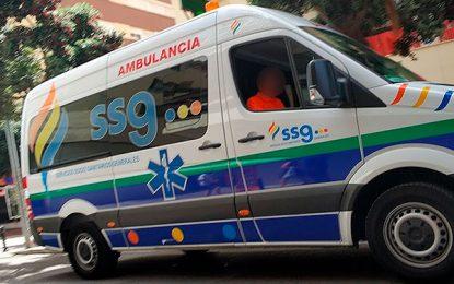 UGT y CCOO han convocado huelga en Cádiz para los trabajadores de ambulancia a partir del seis de enero