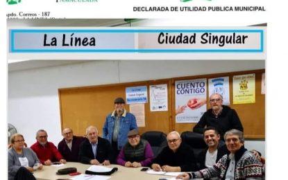 Flavi muestra su solidaridad con los vecinos de la calle Poeta Juan Ramón Jiménez que pueden ser desahuciados