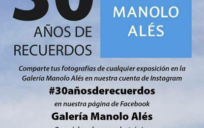 La Galería Manolo Alés facilita la descarga de todos los catálogos de exposiciones llevadas a cabo en la sala