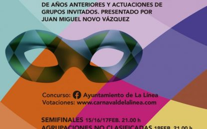 Comparsas y chirigotas linenses de años anteriores participarán en el Concurso Virtual de Agrupaciones Carnavalescas organizado por el Ayuntamiento