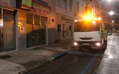 Los trabajos de desinfección se han llevado a cabo en la zona de La Velada, avenida de España, Venta Melchor y Santa Margarita