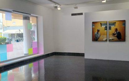 La Galería Manolo Alés expone hasta el 5 de marzo el díptico donado por Roberto González Fernández, 'In Memorian M.A I -II'