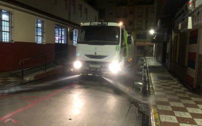 Realizados nuevos trabajos de desinfección en las barriadas de Los Junquillos y San Bernardo