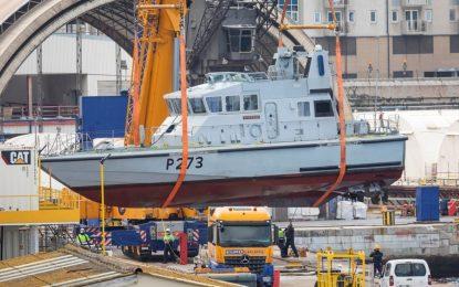 Tras su mantenimiento anual, HMS Pursuer se reincorpora al Escuadrón de Gibraltar de la Royal Navy