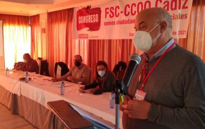 Fsc CCOO de Cadiz celebra su congreso reclamando estabilidad laboral, igualdad y en defensa de los servicios públicos