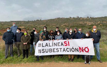 """El Ayuntamiento plantea una """"resistencia numantina"""" contra la construcción de la subestación eléctrica en Los Portichuelos"""