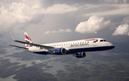 British Airways estrena la primera ruta entre Gibraltar y London City