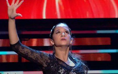 Mariam Lobato 'La Terremoto' se gana al público en 'Tierra de talentos' en Canal Sur a pesar de la crítica de José Mercé
