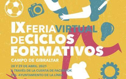 Educación solicita colaboración a institutos de la comarca y organismos colaboradores para celebrar la IV Feria de Ciclos Formativos de carácter virtual